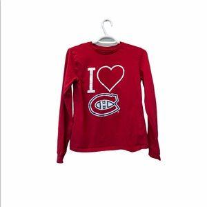 NHL Montreal Canadien kids long sleeve